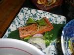Grilled salmon at Kingyo