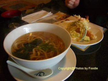 Tempura Udon at Sushi Kimura in East Vancouver