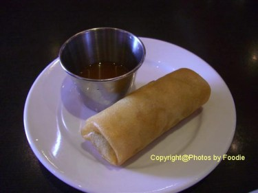 Spring Roll at Green Basil in Burnaby