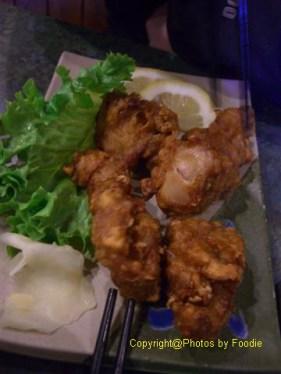 Chicken Karaage at Samurai Sushi in Whistler