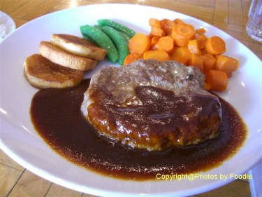 Hamburg Steak at 29th Avenue Cafe in Vancouver