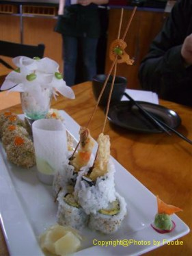 Dynamite Roll at Kishimoto Japanese Kitchen + Sushi Bar in Vancouver