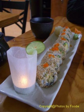 Spicy Cactus Roll at Kishimoto Japanese Kitchen + Sushi Bar in Vancouver