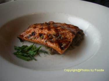 Grilled Steelhead Salmon at Seasons in the Park in Vancouver